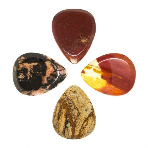 Jasper Tones Mixed Pack of 4 Guitar Picks